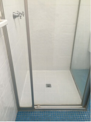 Repaired Shower